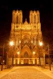 Reims-Kathedrale Lizenzfreies Stockfoto