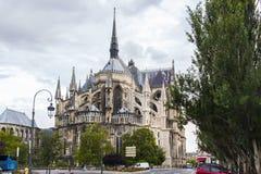 Reims-Kathedrale Lizenzfreie Stockfotografie