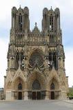 Reims, Kathedrale von Notre-Dame Lizenzfreies Stockfoto