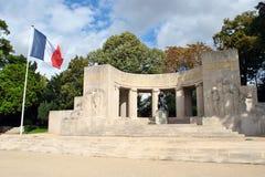 Reims krigminnesmärke Royaltyfri Fotografi