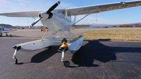 Seaplane G-DRAM royalty free stock image