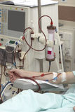 Rein de médecine de soins de santé de dialyse photos libres de droits