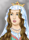 reina Imagen de archivo libre de regalías