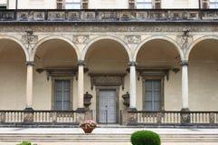 Reina Anne Summer Palace en Praga Imagenes de archivo