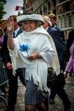 Reina anterior Beatrix de los Países Bajos imagen de archivo