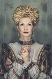 Reina arrogante Imagen de archivo libre de regalías