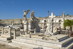 Reina Cemetery, Cienfuegos, Cuba Stock Photo