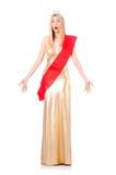 Reina de belleza en la competencia Imagen de archivo