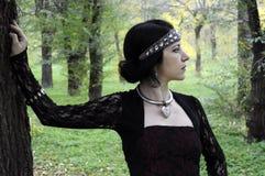 Reina de la dríada Imagen de archivo libre de regalías
