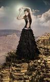 Reina de la luna Imagen de archivo libre de regalías
