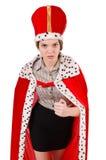 Reina de la mujer Foto de archivo libre de regalías