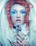 Reina de la nieve Foto de archivo