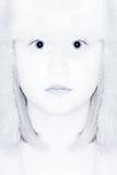 Reina de la nieve del invierno Foto de archivo