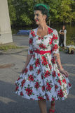 Reina de los corazones Chick Meet imágenes de archivo libres de regalías