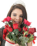 Reina de rosas Imagen de archivo libre de regalías
