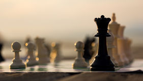 Reina del ajedrez Imágenes de archivo libres de regalías