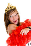 Reina del baile de fin de curso Imagen de archivo libre de regalías