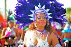 Reina del carnaval foto de archivo