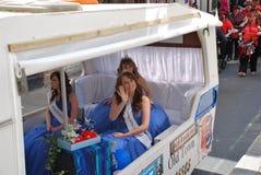 Reina del carnaval, Hastings Foto de archivo libre de regalías