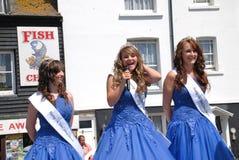 Reina del carnaval, Hastings Imagen de archivo libre de regalías
