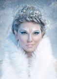 Reina del hielo Fotografía de archivo