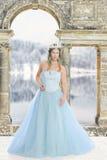 Reina del hielo en su castillo fotos de archivo libres de regalías