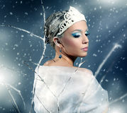 Reina del invierno Fotografía de archivo