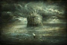 Reina del mar ilustración del vector