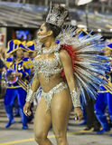 Reina del sueño del Brasil del carnaval - Camila Silva Fotografía de archivo libre de regalías