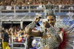 Reina del sueño del Brasil del carnaval - Camila Silva Fotografía de archivo