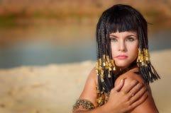 Reina egipcia Imagen de archivo libre de regalías
