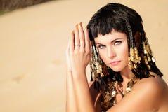 Reina egipcia Imagenes de archivo