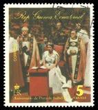 Reina Elizabeth en una ocasión pública imagen de archivo