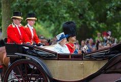 Reina Elizabeth II Imagen de archivo libre de regalías