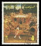 Reina Elizabeth II en una ocasión pública fotos de archivo libres de regalías