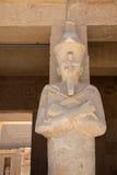 Reina Hatshepsut como Osiris foto de archivo