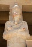 Reina Hatshepsut como Osiris imagen de archivo libre de regalías