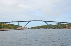Reina Juliana Bridge Curacao imagen de archivo libre de regalías