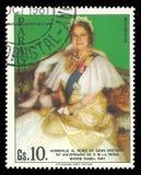 Reina madre Elizabeth imágenes de archivo libres de regalías