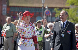 Reina Margrethe de H M el 2do Foto de archivo