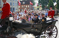 Reina Margrethe II de Dinamarca Foto de archivo libre de regalías