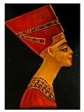 Reina Nefertiti Imagen de archivo libre de regalías
