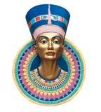 Reina Nerfertiti Imagen de archivo libre de regalías