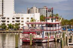 Reina Paddleboat del río en el pie lauderdale Fotos de archivo libres de regalías