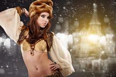Reina rusa del baile Fotografía de archivo libre de regalías