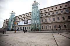 Reina Sofia Art Museum Stock Photography