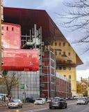 Reina Sofia Museum Exterior View, Madrid, Spagna fotografia stock libera da diritti