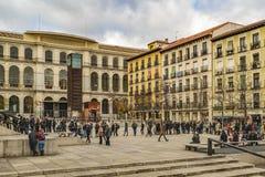 Reina Sofia Museum Exterior View, Madrid, Spanien Lizenzfreies Stockfoto