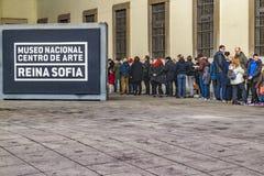 Reina Sofia Museum Exterior View, Madrid, Spanien Stockfoto