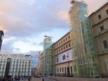 Reina Sofia Museum madrid royalty-vrije stock afbeelding
